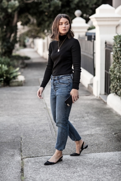 ways to style turtleneck - sara donaldson
