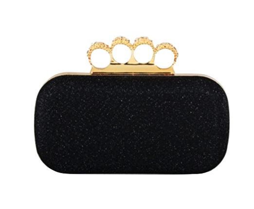 black-clutch-with-rhinestone-embellishments-and-ring-handle