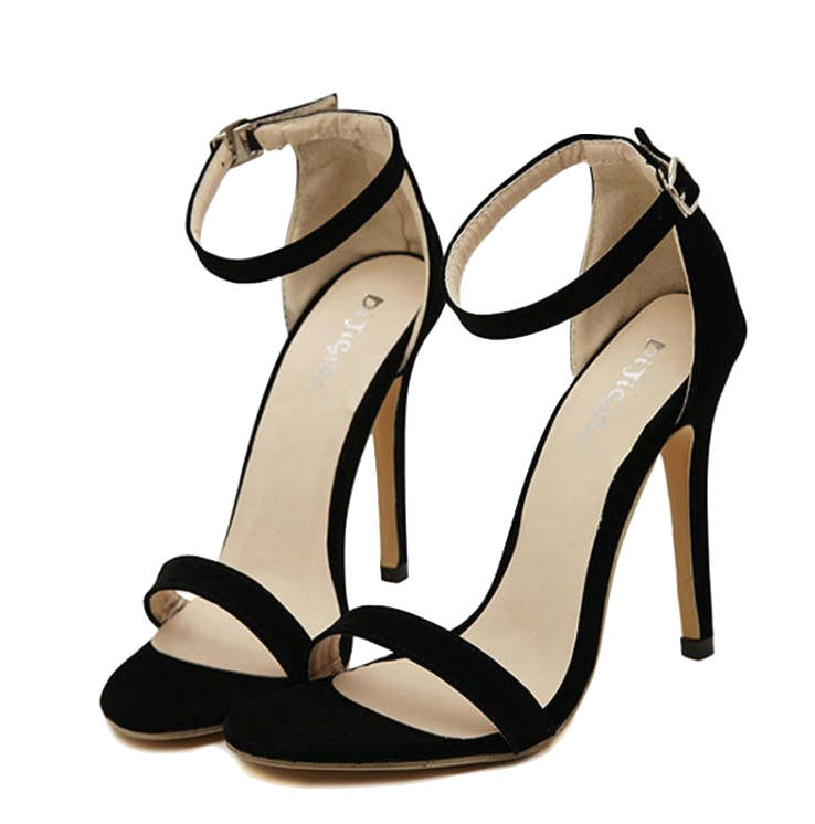 black-strappy-high-heel-sandals