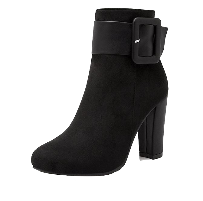 black-suede-thick-high-heel-boots