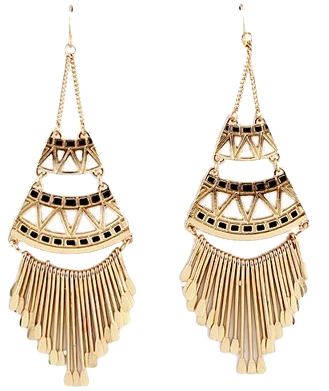 black-and-gold-chandelier-earrings