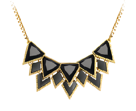 black-and-gold-geometric-statement-necklace