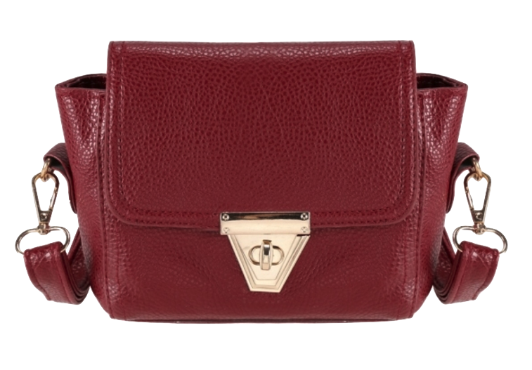 burgundy-crossbody