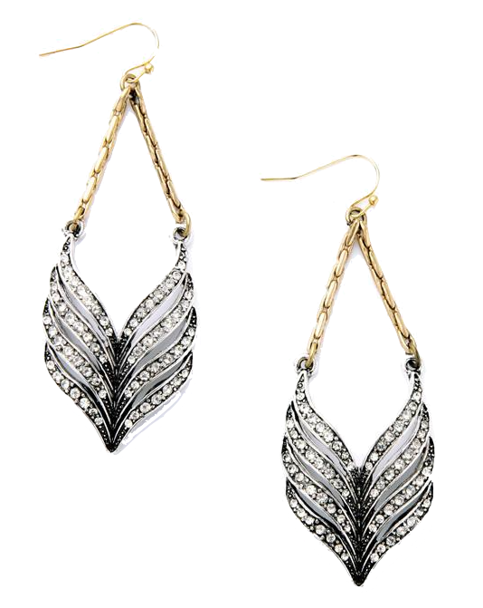 crystal-and-gold-dangling-earrings
