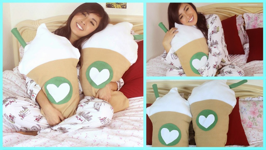 diy-starbucks-frappucino-pillow