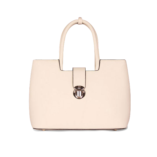 elegant-pu-leather-handbag-with-metal-buckle-clasp