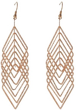 gold-drop-earrings-with-diamond-frame-pendant