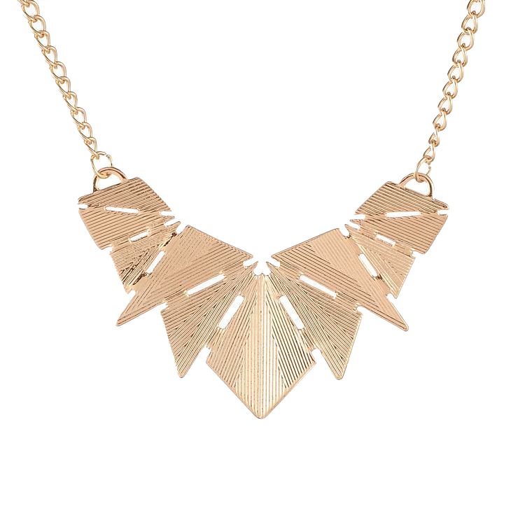 gold-geometric-statement-necklace
