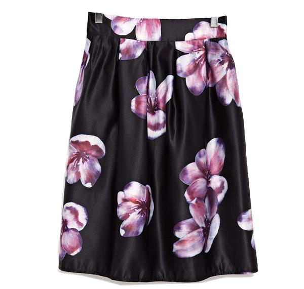 high-waist-pleated-floral-print-midi-skirt