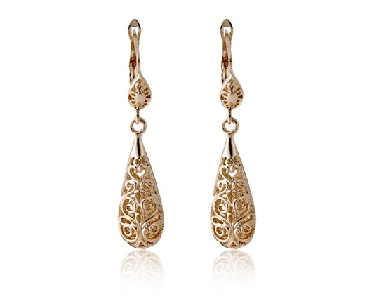 italiana-gold-hollowed-teardrop-earrings
