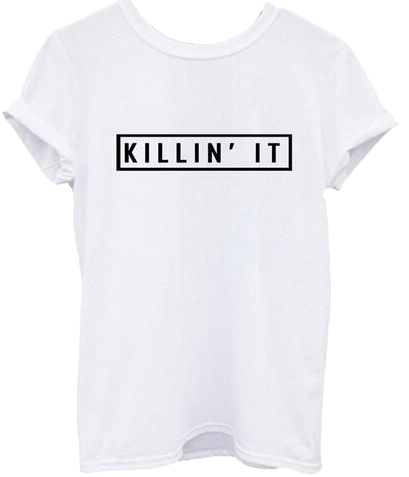 killin-it-basic-white-tee