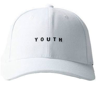 letter-embroidered-youth-baseball-cap