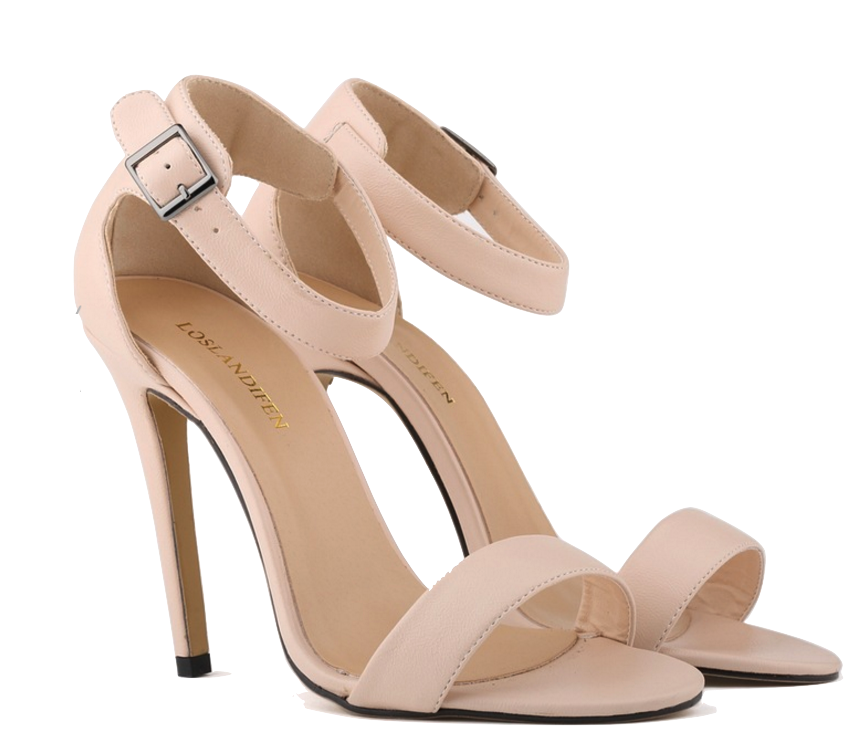 nude-strappy-high-heel-sandals