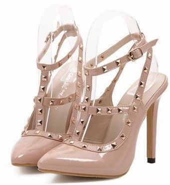 nude-studded-pointed-toe-high-heels