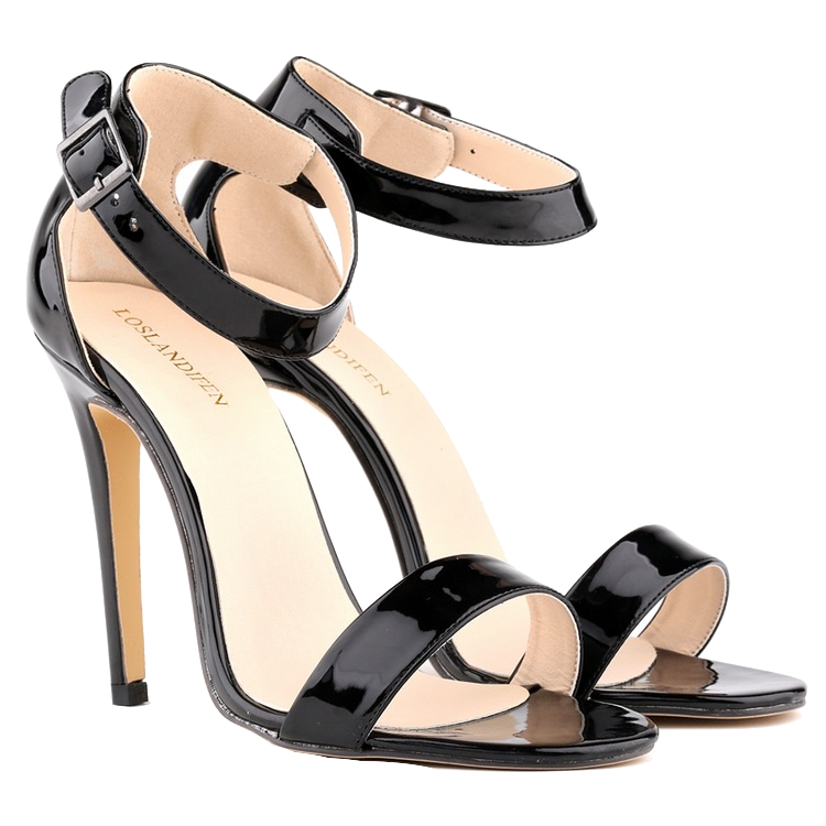 patent-leather-peep-toe-ankle-strap-heels