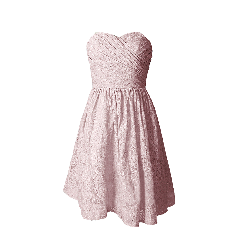 pink-lace-dress-with-sweetheart-neckline