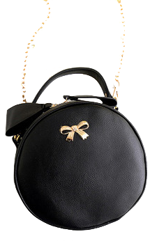 round-mini-bag-with-metallic-bow-detailing