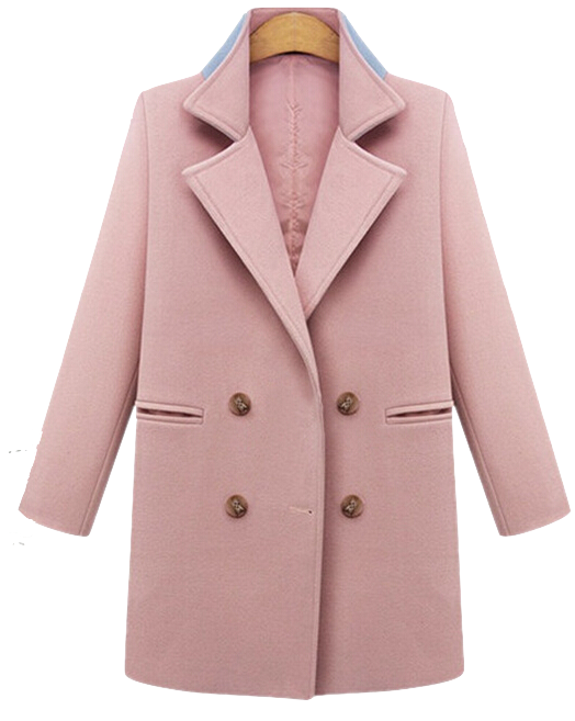 solid-color-double-breasted-woolen-coat