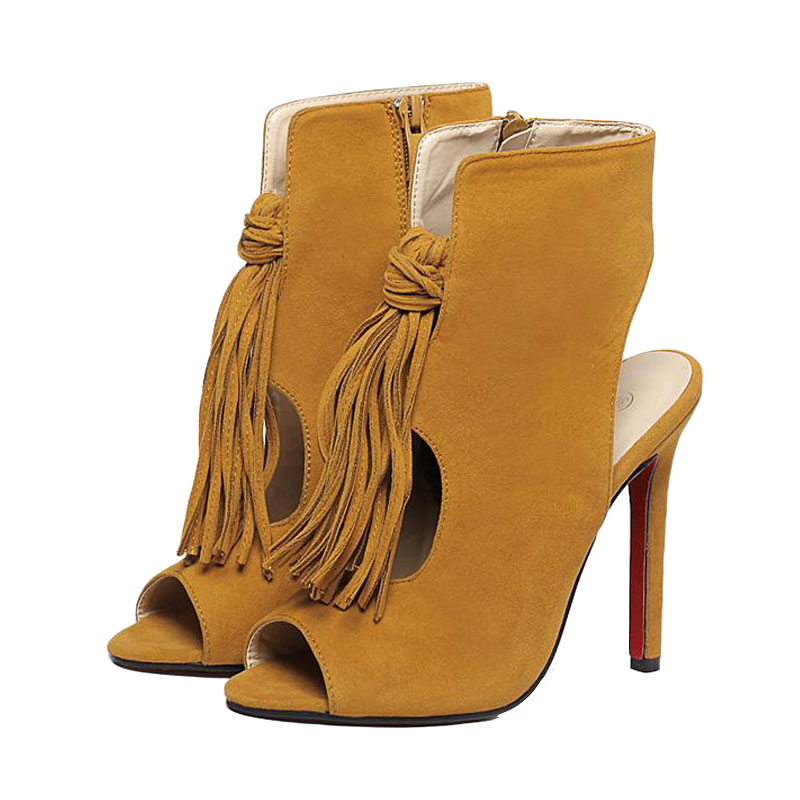suede-tassel-peep-toe-high-heels-sandals