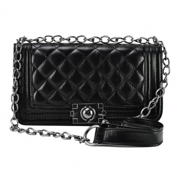 synthetic-leather-chain-crossbody-with-quilted-texture