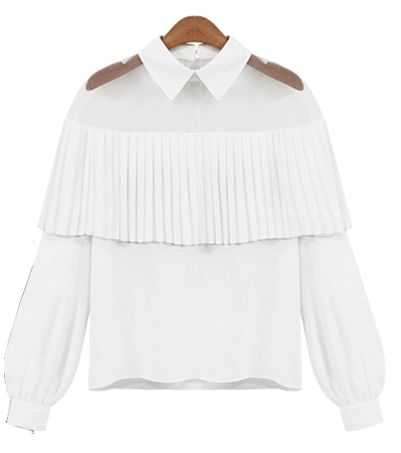 white-collar-ruffle-long-sleeve-blouse
