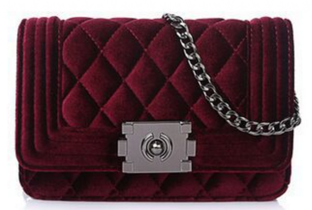womens-suede-quilted-chain-handbag-with-metal-buckle-clasp