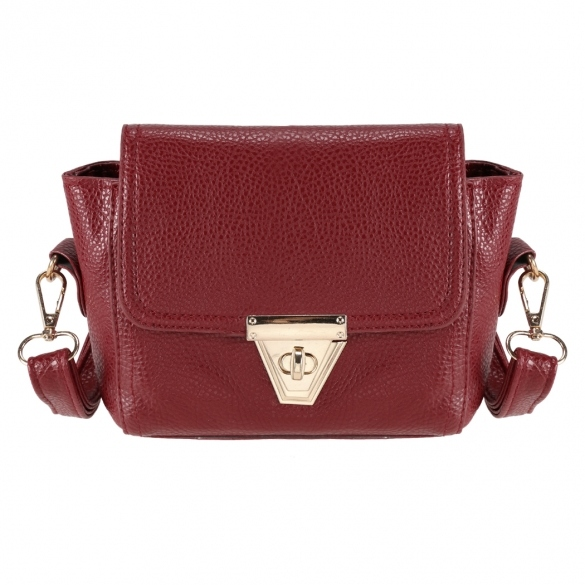 faux-leather-mini-shoulder-bag-with-metal-buckle-closure