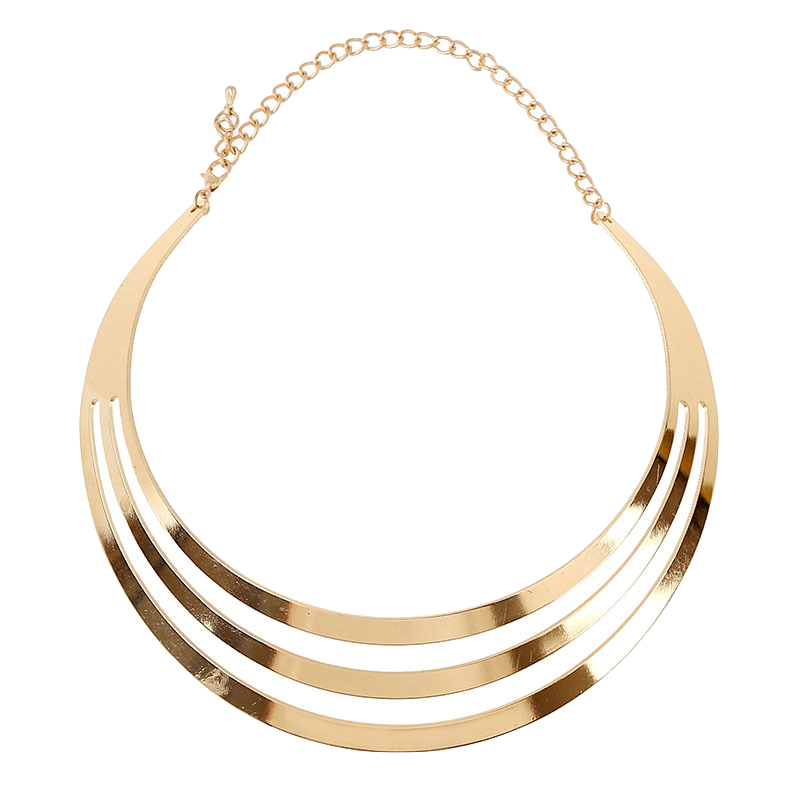 multi-layered-gold-metallic-necklace