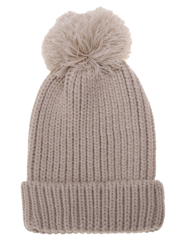 beige-knitted-beanie