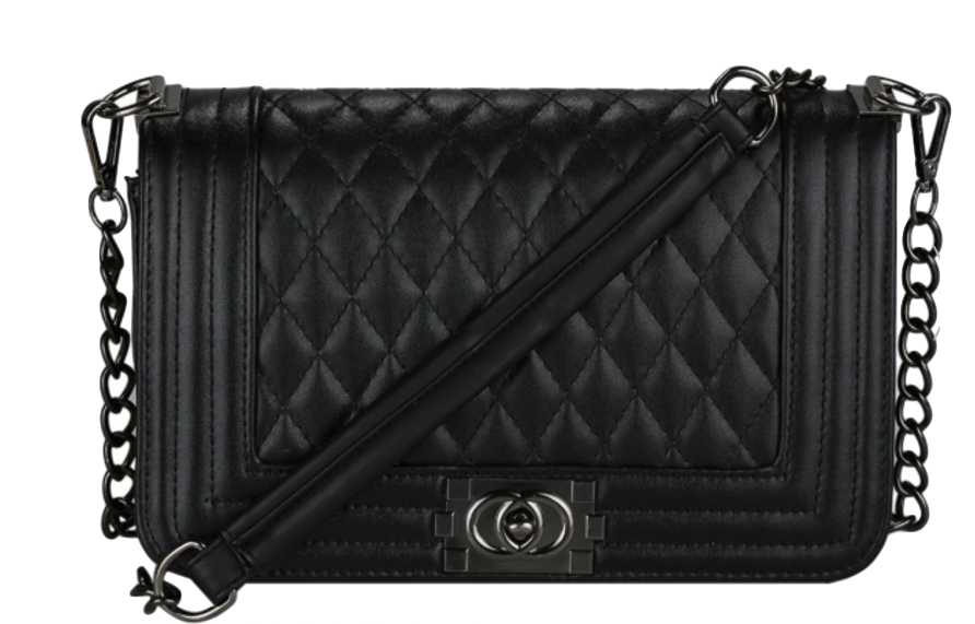 black-leather-crossbody-bag-with-quilted-texture-and-chain-straps