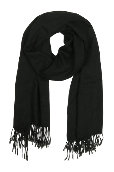 black-scarf-with-tassels