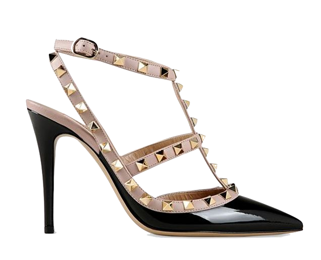 black-studded-pointed-toe-high-heels