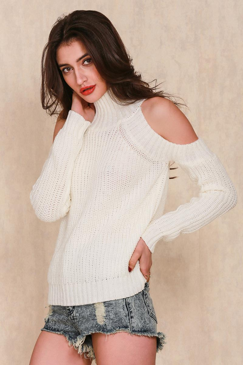 cold-shoulder-turtleneck-loose-knit-sweater