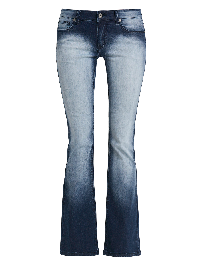 dark-blue-denim-flared-jeans