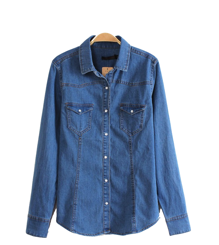 denim-button-down-shirt