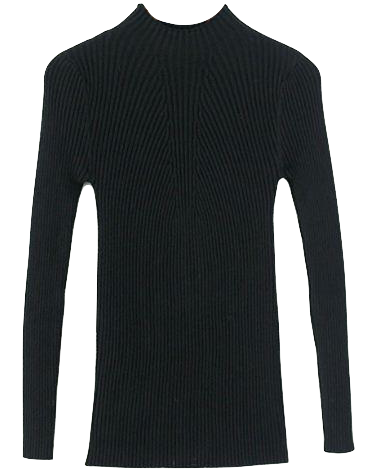 elastic-high-neck-knitted-slim-fit-sweater