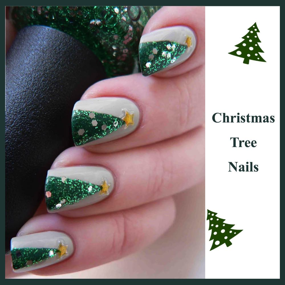 Gorgeous D.I.Y Christmas Nail Art Designs – LUULLA\'S BLOG