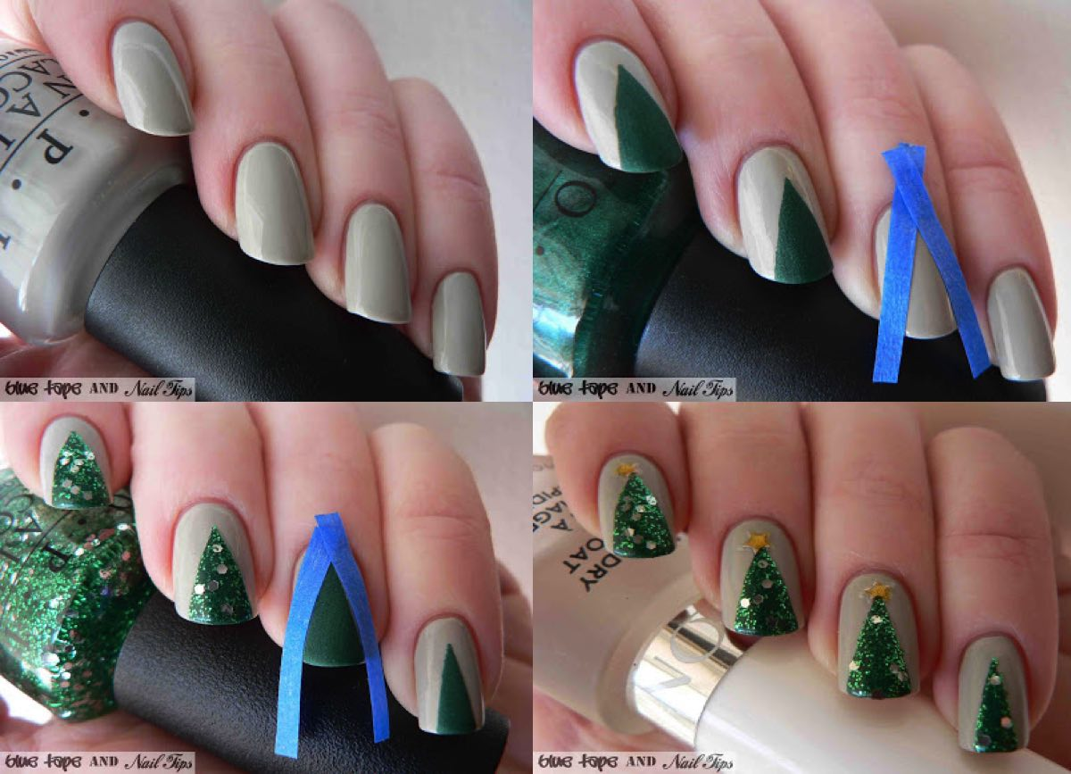 gorgeous-d-i-y-christmas-nail-art-designs-christmas-tree-nails-instructions