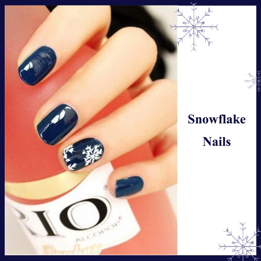 Gorgeous D I Y Christmas Nail Art Designs Luulla S Blog