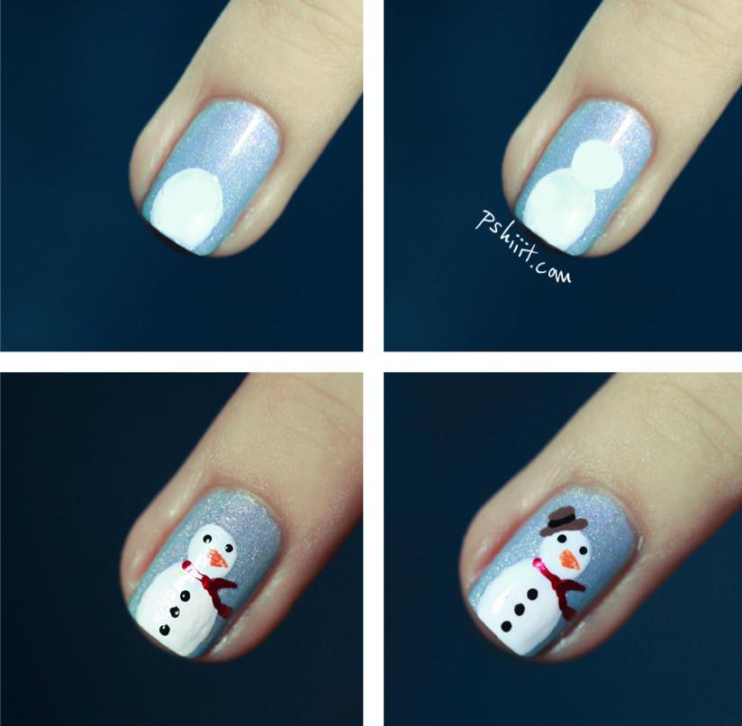 gorgeous-d-i-y-christmas-nail-art-designs-snowman-nails-instructions