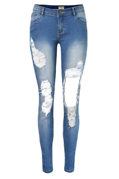 heavily-distressed-skinny-jeans