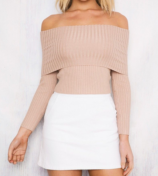 off-the-shoulder-knitted-sweater