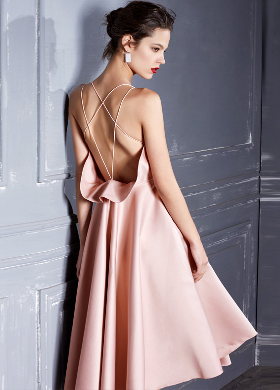 pink-midi-dress-featuring-backless-detailing