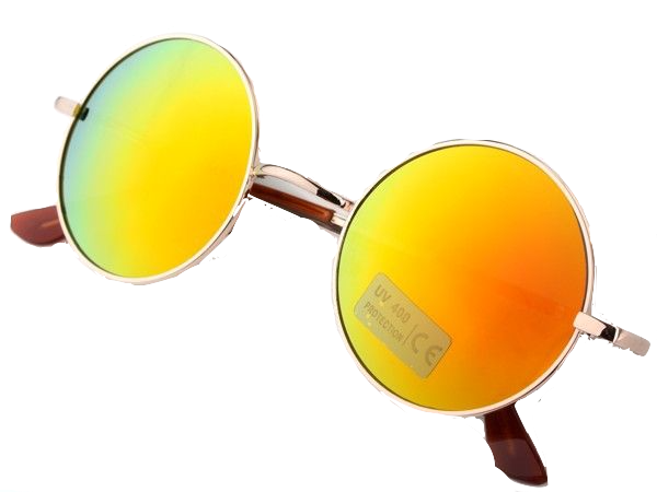 round-frame-orange-lens-sunglasses