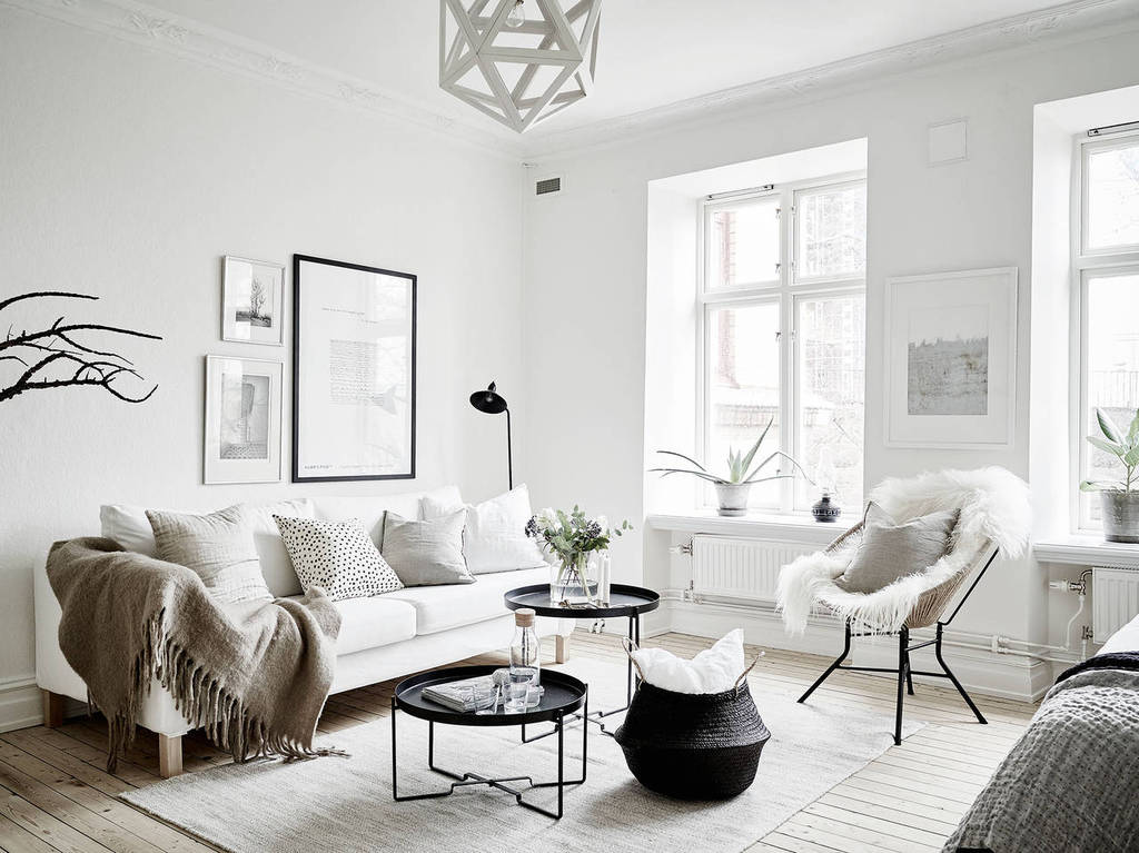 Scandinavian inspired home decor for minimalist out there for Scandinavian design house