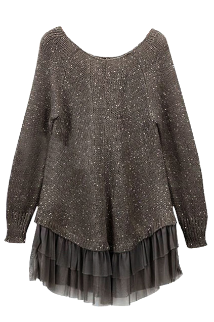 sequin-long-sleeve-sweater-dress-with-ruffle-hem