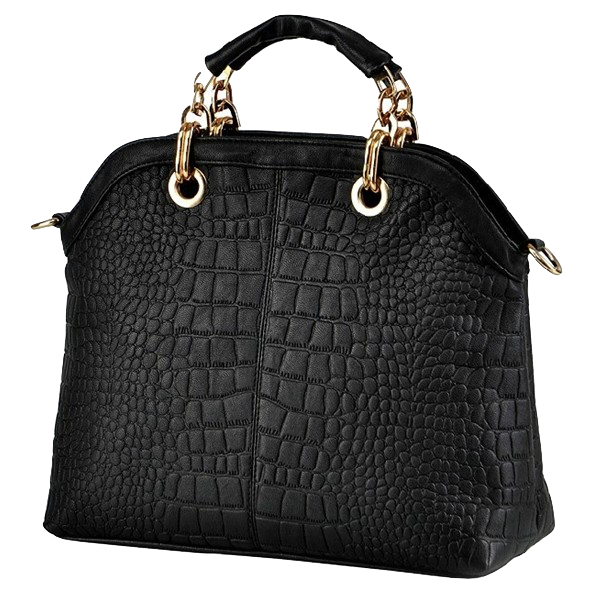 serpentine-synthetic-leather-top-handle-handbag