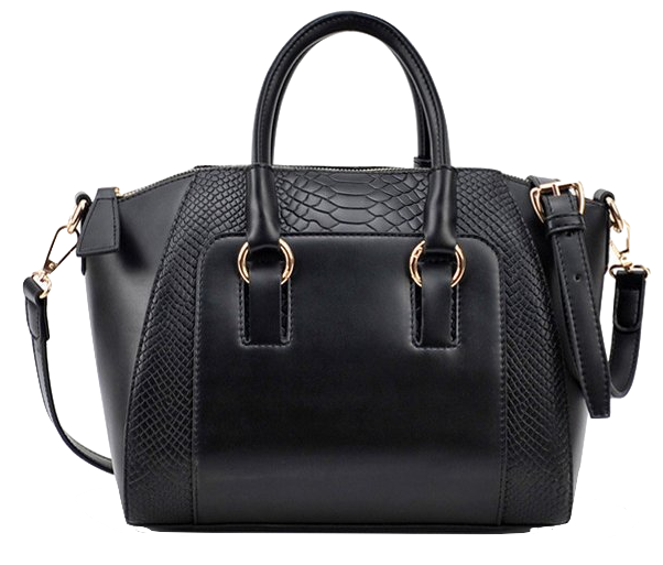 shiny-embossed-leather-handbag-with-detachable-shoulder-straps