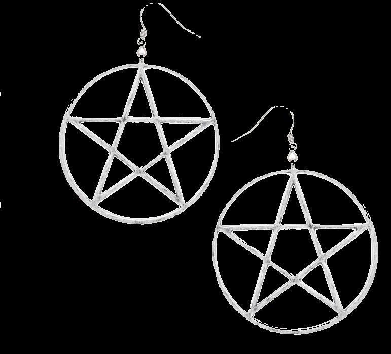 silver-star-in-a-hoop-earrings