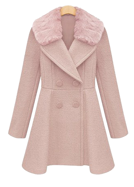 stylish-double-breasted-trench-coat-with-fur-collar